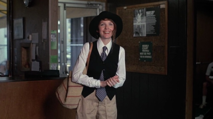 Tinute masculine in Annie Hall