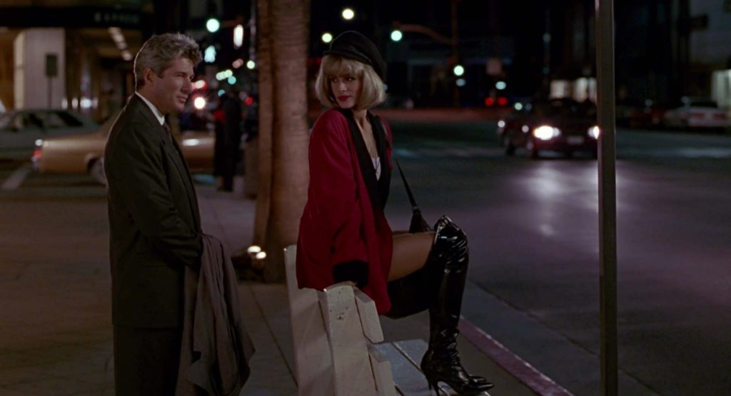 Streetwalker style in Pretty Woman